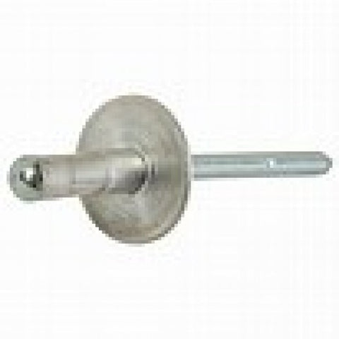 Pop Rivet 1610-3722 Multi Grip Brazier Head Alum. Riv Steel Nail Rasg-1610-3722