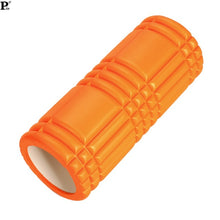 Yoga Pilates Fitness Foam Roller Yoga Column Train Gym Massage Grid Trigger Point Therapy Exercise Physio Black Orange 63