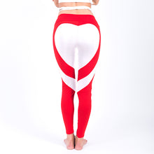 Sexy Heart Pattern Push Up Workout Leggings for Women