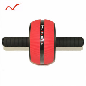 Non-Skid Abdominal Exercise Wheel with Free Knee Pad
