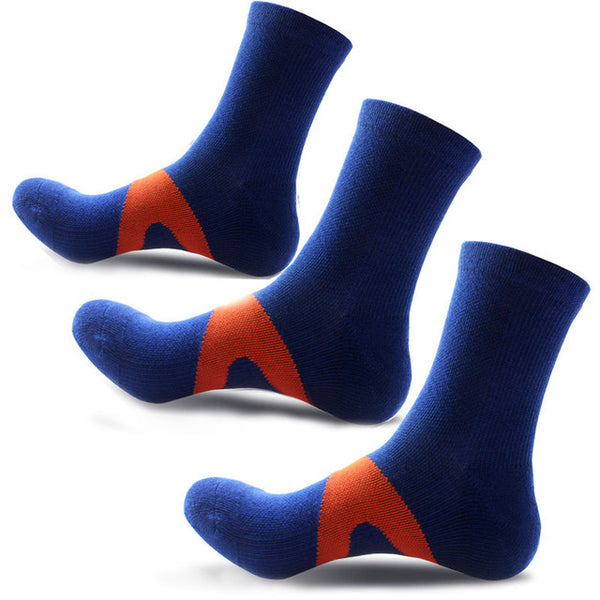 3 pairs/lot Breathable Casual Socks Crew Polyester Compression Socks Men Colorful Fashion Quick Dry Elasticity Socks Hot Sale
