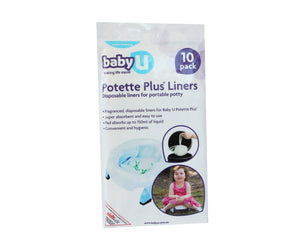 Baby U Potette Plus Liners