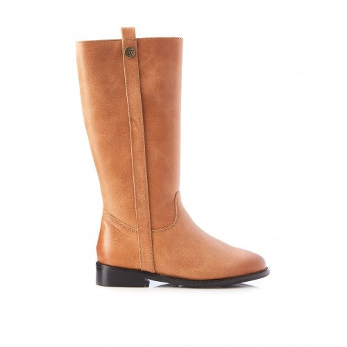 Walnut Lily Boot Tan