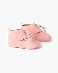 Walnut Oates Tassel Boot Pink