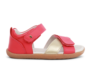 Bobux Step Up  Sail Watermelon + Mist Sandal