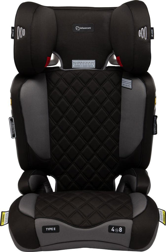 Infa Secure Aspire Booster Seat 4-8years Black
