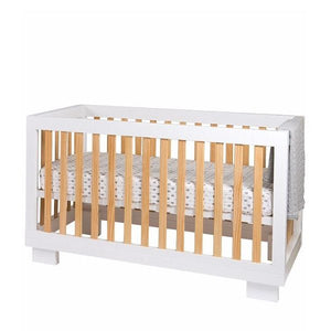 Cocoon Luxe cot/bed Natural/White inc AUS made mattress