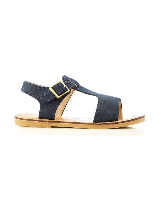 Walnut Racer Sandal Navy