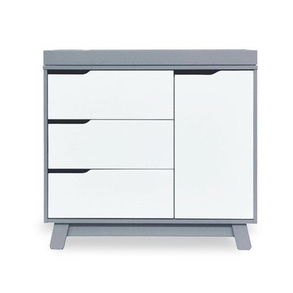 Babyletto Hudson changer/dresser grey/white
