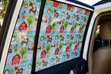 Toddlertints Funky Car Shade Farmyard Fun