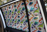 Toddlertints Funky Car Shade Space Dinos