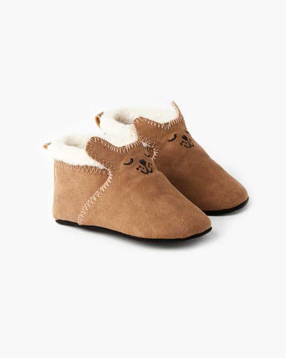 Walnut Errol Bootie Tan