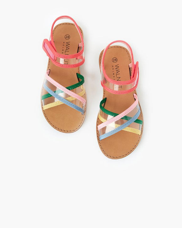 Walnut Ringo Sandal Multi