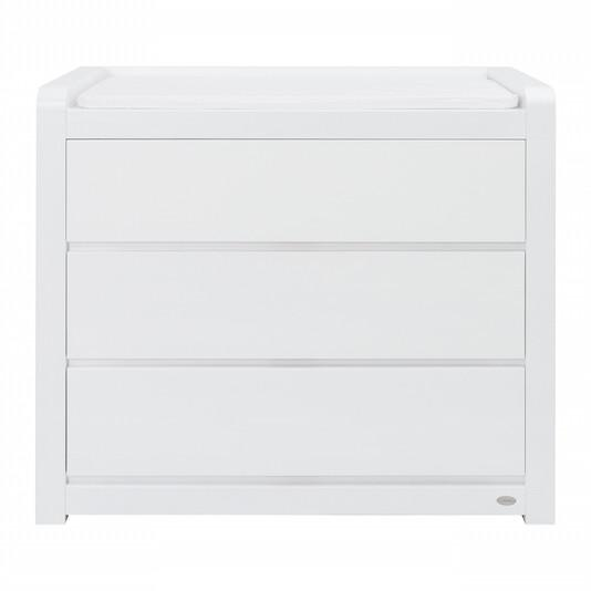 Cocoon Luxe Chest/changer white inc change mat