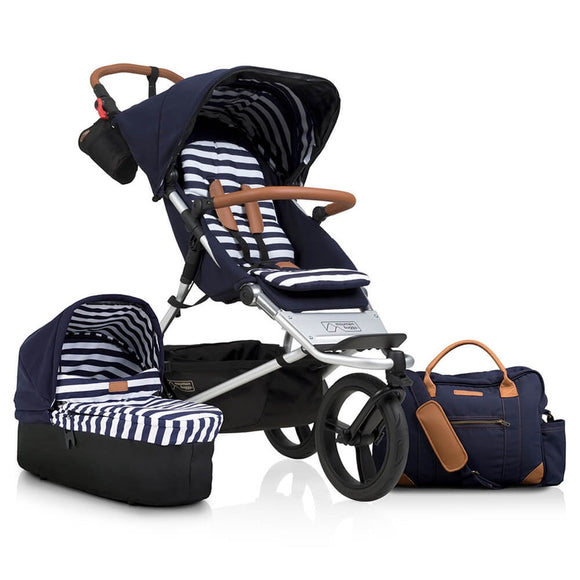 Mountain Buggy Urban Jungle LUXURY Nautical & Carry cot Package