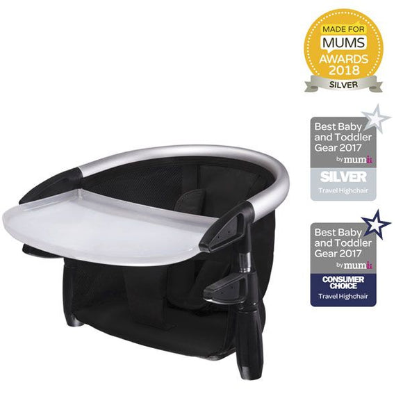 Phil & Teds Lobster portable high chair Black