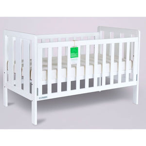 Tasmaneco Bella cot/bed Package inc Mattress & Tidy Drawer