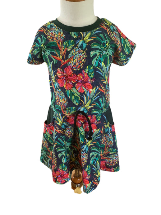 Harlow Dress - Tropical Floral