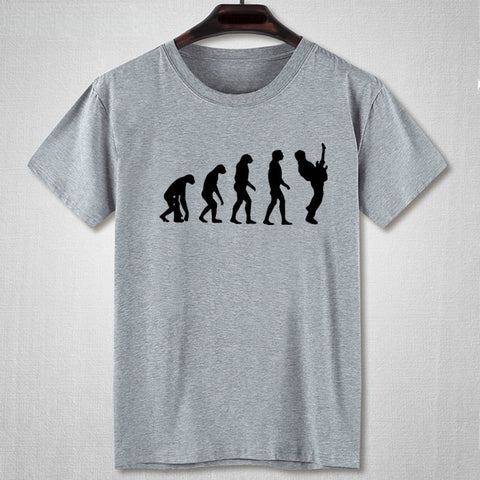 Ten Peaks Brand Guitar Player Evolution 100% Cotton T Shirt