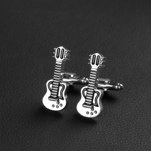 Hamilton Men's Guitar Fashion Cufflinks