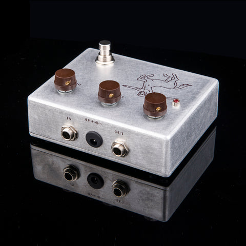 FineTone Silver Klon Centaur Overdrive Guitar Effects Pedal (True Bypass)