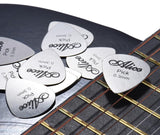 Riveron 10 Pack GuitarOne Premium Stainless Steel Guitar/Bass Picks