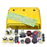 FineTone DIY Gold Klon Centaur Professional Overdrive Guitar Effects Pedal Kit