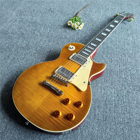 Mailand Honey Burst Humbucker Electric Guitar