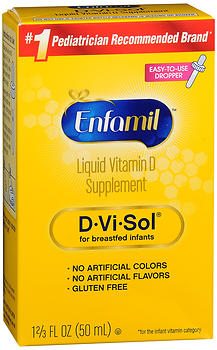 Enfamil D-Vi-Sol Liquid Vitamin D Supplement 50 ML