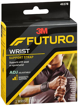 FUTURO Wrist Support Strap Adjustable Moderate Support