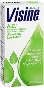 Visine A.C. Ultra Itchy Eye Relief Drops 0.5 OZ