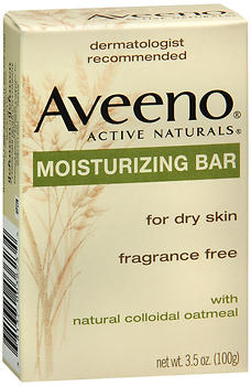 AVEENO Active Naturals Moisturizing Bar Fragrance Free 3.5 OZ