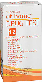 At Home Drug Test 12