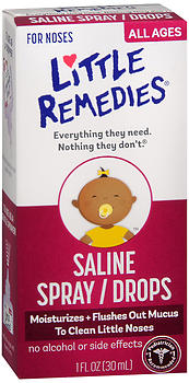 Little Remedies Saline Spray/Drops 1 OZ