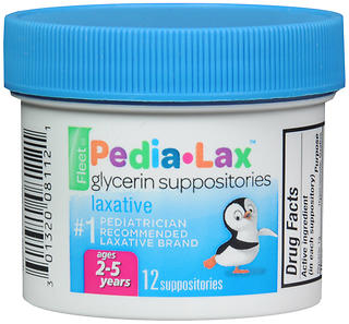 Fleet Pedia-Lax Glycerin Laxative Suppositories