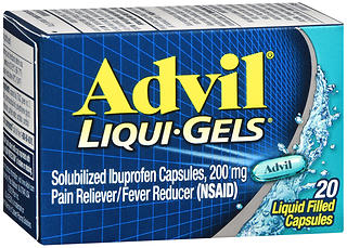 Advil Ibuprofen 200 mg Liqui-Gels Packets 20 CP