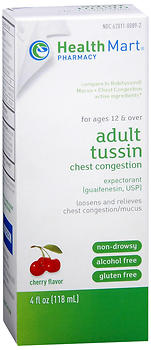 Health Mart Adult Tussin Mucus & Chest Congestion Liquid