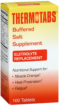 THERMOTABS Buffered Salt Supplement Tablets 100 TB