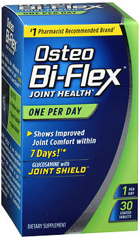 Osteo Bi-Flex Joint Health Dietary Supplement Coated Tablets One Per Day 30 cp