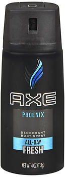 Axe Daily Fragrance Spray Phoenix 4 oz