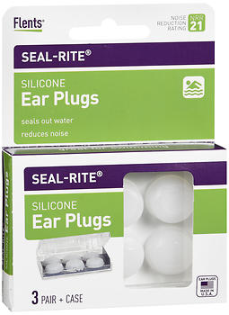 Flents Seal-Rite Silicone Ear Plugs