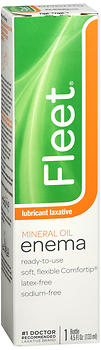 Fleet Mineral Oil Lubricant Laxative Enema