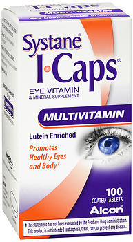 Systane ICAPS Multivitamin Coated Tablets 100 CT