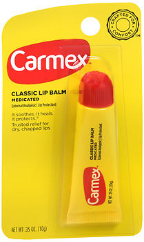 Carmex Classic Lip Balm Medicated Original 0.35OZ