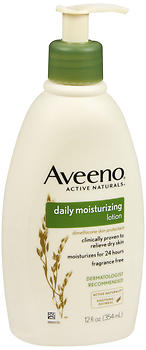 AVEENO Active Naturals Daily Moisturizing Lotion 12 oz