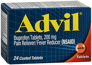 Advil Ibuprofen 200 mg Coated Tablets 24 TB