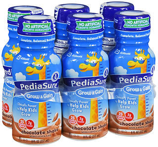 PediaSure Grow & Gain Shakes Chocolate 48 OZ