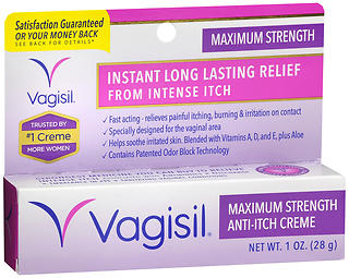 Vagisil Anti-Itch Creme Maximum Strength 1oz