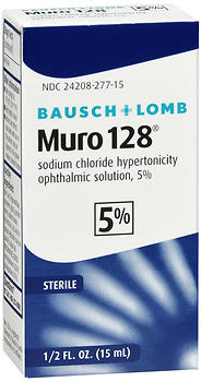 Bausch + Lomb Muro 128 Solution 5% 15 ML
