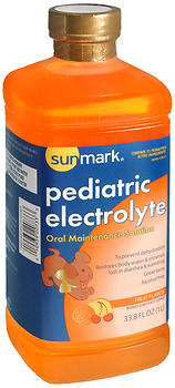Sunmark Pediatric Electrolyte Oral Maintenance Solution Fruit Flavor 1LT